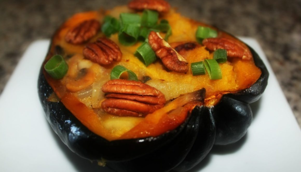 Sausage and Apple Stuffed Squash